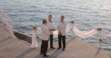 gay destination wedding capri