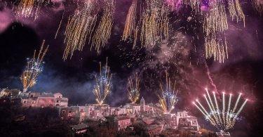 amalfi coast fireworks