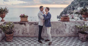 same sex wedding positano